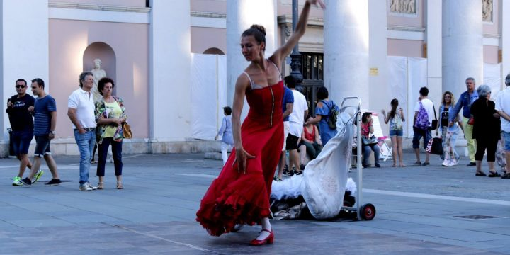 Sevillana Dancer in Trieste